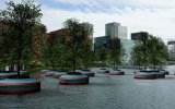 Bobbing Forest in Rotterdam
