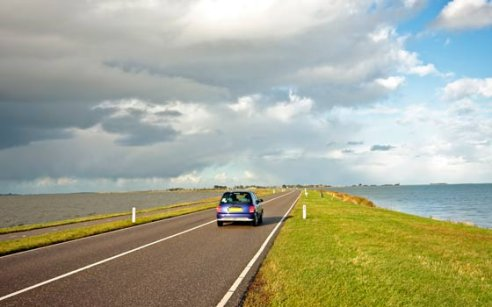 Renting a car in Holland