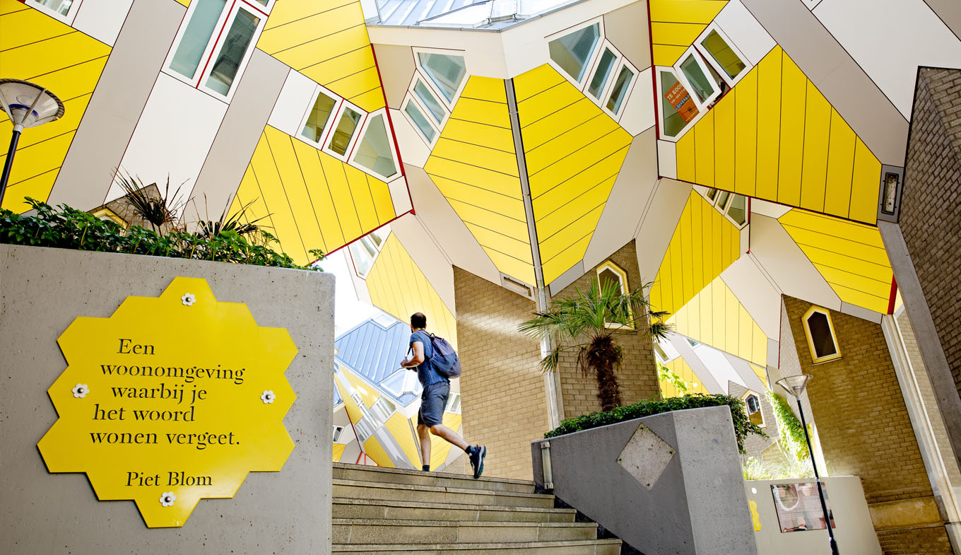 The Cube Houses In Rotterdam Hollandcom