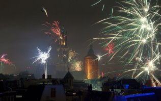 Silvester in Holland
