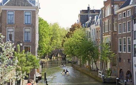 Canal houses in Utrecht