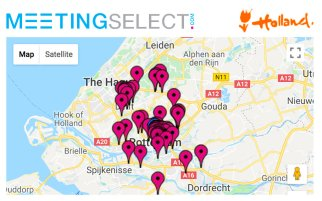 Find your hotel & venue in Rotterdam