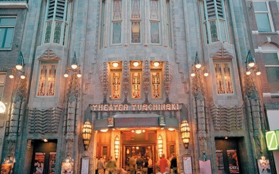 The most beautiful theater of Amsterdam