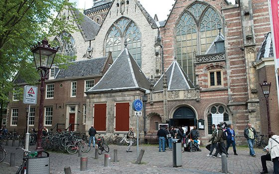 Oude kerk for Amsterdam hotel centro