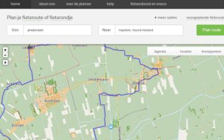 Bicycle Route Planner