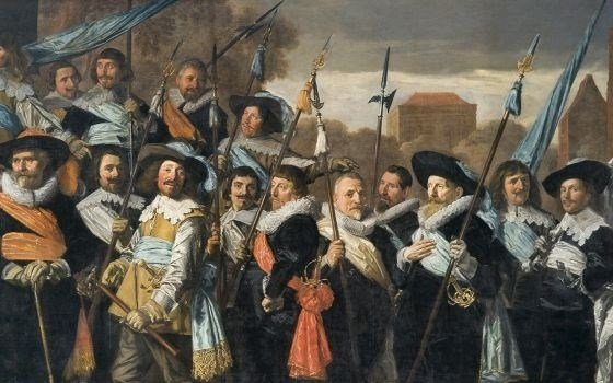 Officers and sub-alterns of the St George Civic Guard, Frans Hals Museum, Haarlem