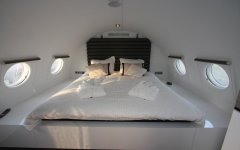 Spend the night in an aircraft
