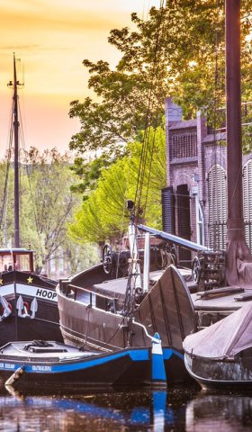 Old port of Gouda