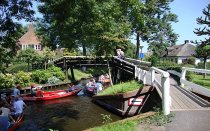 Boat tour through Giethoorn and Weerribben-Wieden