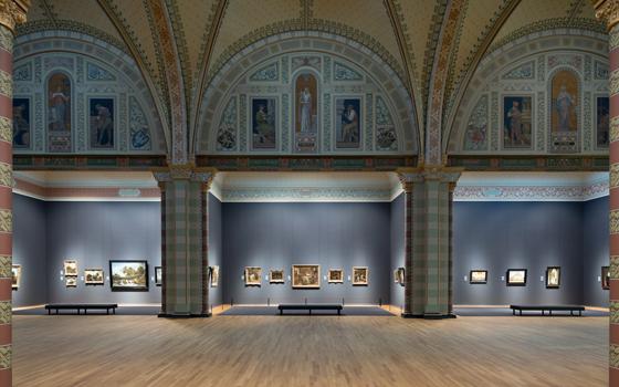 アムステルダムの美しい国立美術館