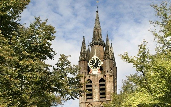 The Old Church in Delft