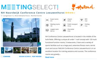 Book your event at NH Conference Centre Leeuwenhorst