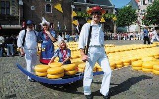 阿尔克马尔(Alkmaar)奶酪市场
