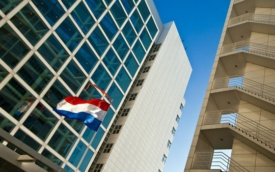 The city hall of The Hague