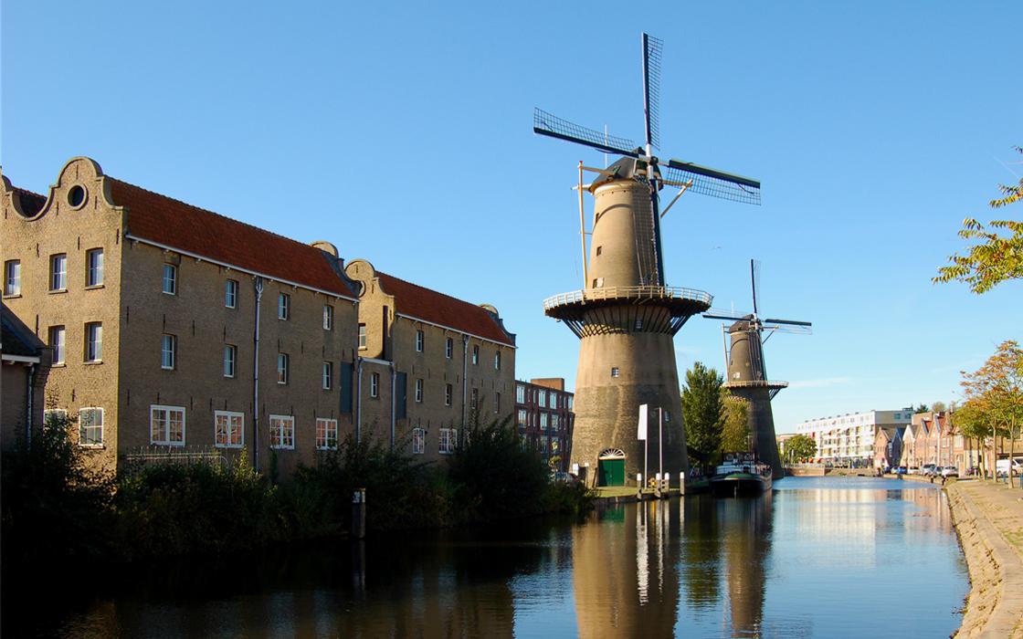 The Windmills of Schiedam - Holland.com