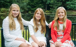 The children of King Willem-Alexander and Queen Máxima