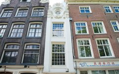 The narrowest house in Amsterdam