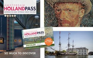 Descubra Amsterdam com o  Holland Pass