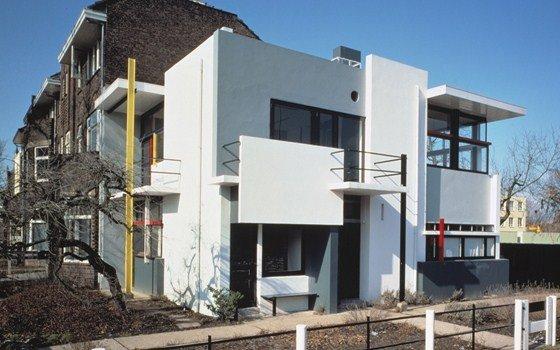 Maison rietveld schr der utrecht for Archi interieur rotterdam