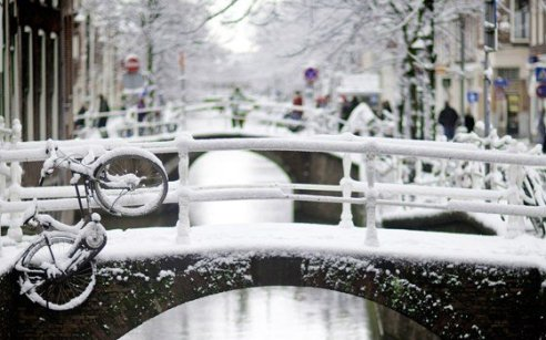 Winter in Holland