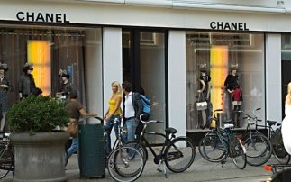Luxury shopping in Amsterdam