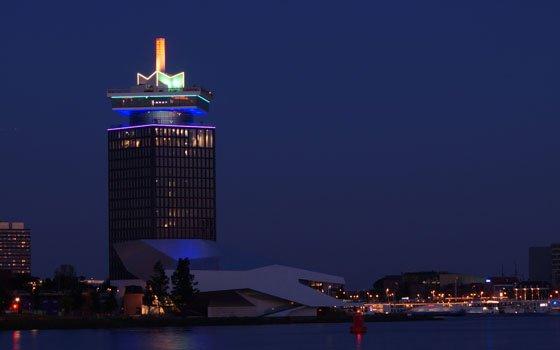 アムステルダムの壮大な景観を!A'DAM ルックアウト