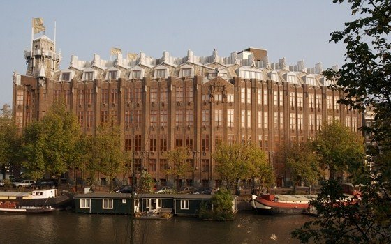 An architectural monument and hotel in Amsterdam