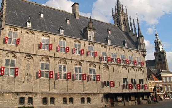 The City Hall of Gouda