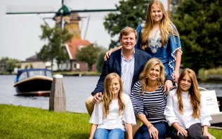 La famille royale hollandaise