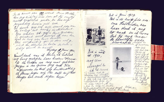 Diary Anne Frank, © AFT