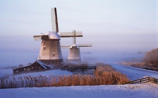 12x winter in Holland