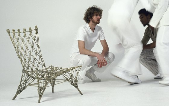 Knotted chair Droog, photographer: Robaard Theuwkens