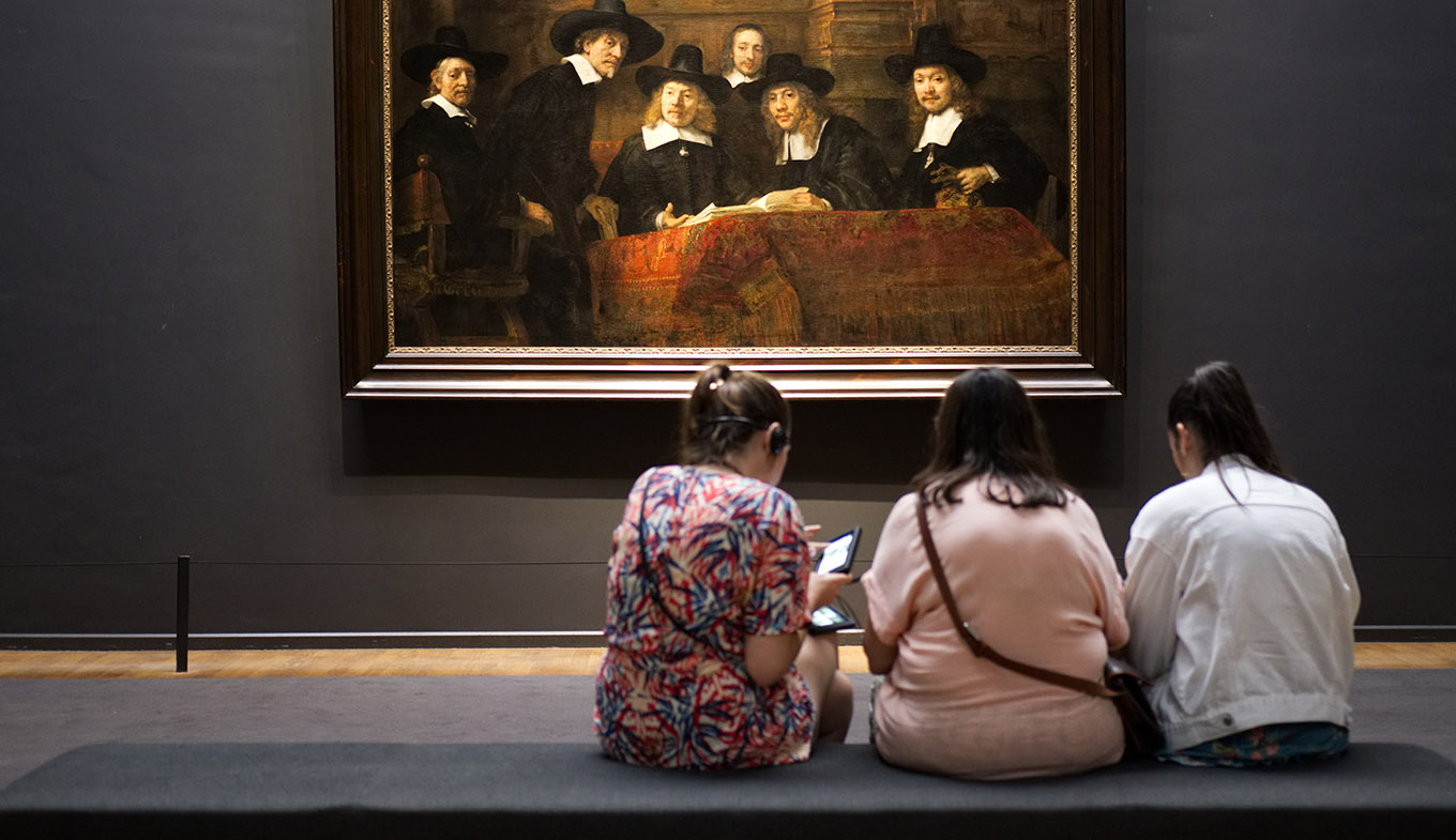 Rembrandt in the Rijksmuseum