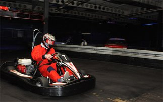 Karting a Silverstone