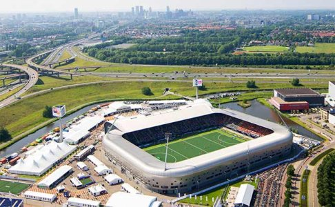 Top 3 sport venues in The Hague