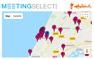 Find your hotel & venue in Noordwijk