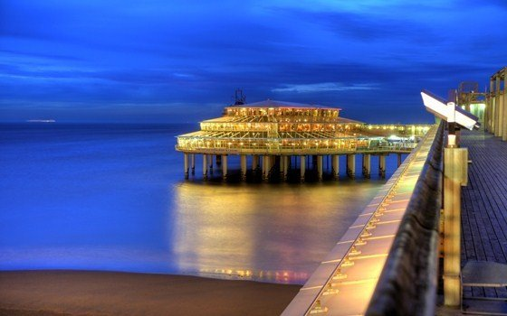 the pier by night