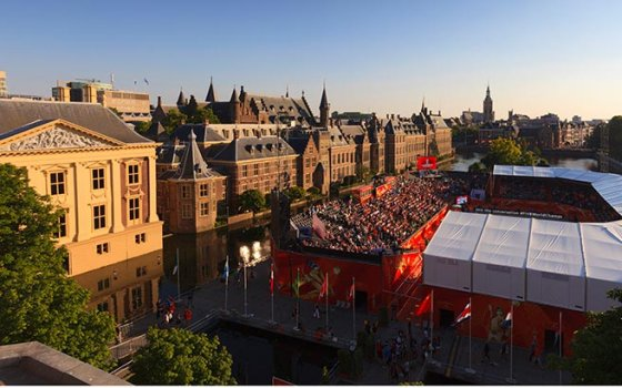 The Hague,  WC Beach Volleybal 2015