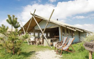 Glamping equals luxury camping