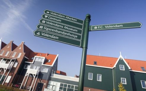 Sights in Volendam