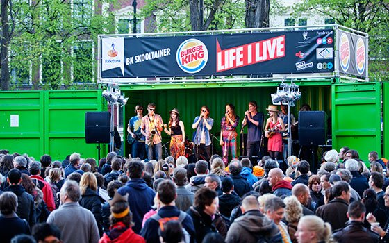 Life I Live Festival The Hague, photography: Koray Poyraz