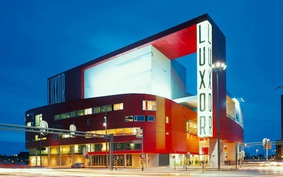 The New Luxor Theater in rotterdam