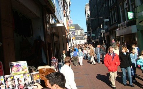 Fashion shoppen in Amsterdam