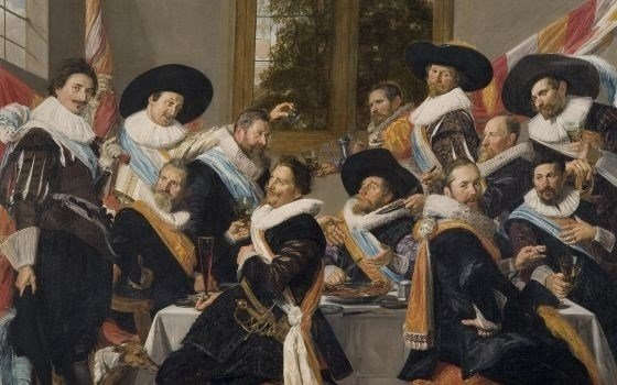 Banquet of the officers of the Calivermen Civic Guard, Frans Hals Museum, Haarlem
