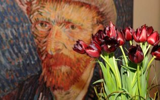 Van Gogh provides the inspiration for the most beautiful spring park in the world
