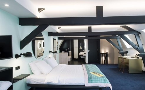 Bed en breakfast in de stad
