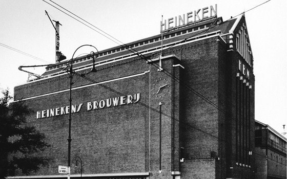 An historical view of the Heineken experience brewery building