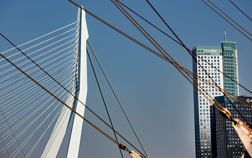 Erasmus bridge & Maastoren