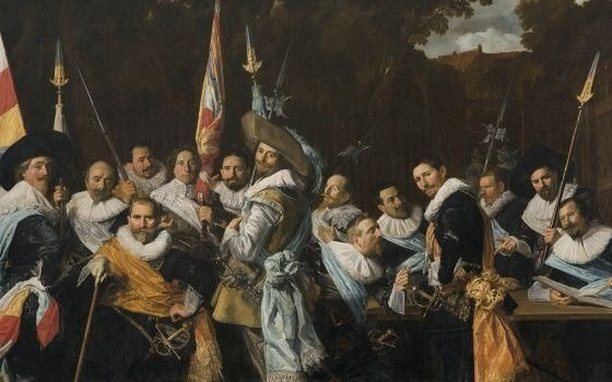 Officers and sub-alterns of the Calivermen Civic Guard, Frans Hals Museum, Haarlem