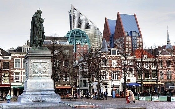A townscape of The Hague